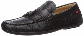 Marc Joseph New York Men's Leather Made in Brazil Kilt/Tassle Driving Loafer