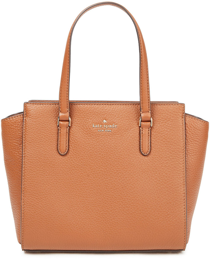 Kate Spade Pebbled-leather Tote
