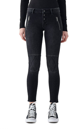 DL1961 DL 1961 Florence Mid Rise Skinny Ankle Jeans