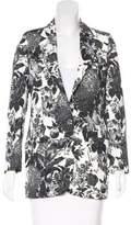 Stella McCartney Floral Notch-Lapel Blazer