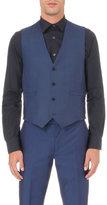 Paul Smith Soho-fit Checked Wool Waistcoat