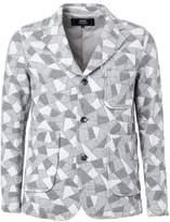 Anrealage geometric print jacket