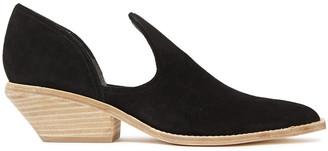 Sigerson Morrison Cutout Suede Ankle Boots