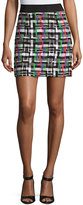 Milly Couture Tweed Mini Skirt, Multi