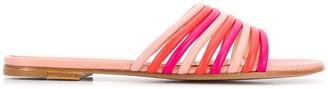 Gianvito Rossi Multiple Strap Flat Sandals