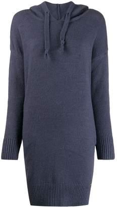 Jovonna London knitted longline hoodie