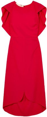 Antonio Berardi Draped Wool-blend Dress