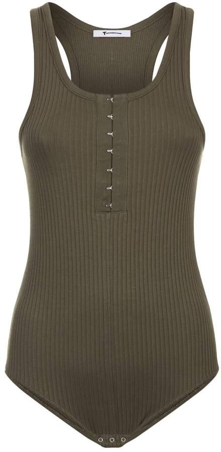 Alexander Wang Ribbed Sleeveless Bodysuit