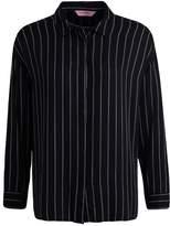 Hunkemoller JACKET STRIPE Pyjama top black