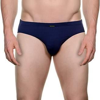 Bruno Banani Men's Sportslip Check Line Boxer Briefs,(Size: 7)