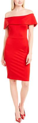 Isabel Garcia Off-The-Shoulder Sheath Dress