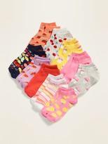 Old Navy Ankle Socks 10-Pack for Girls