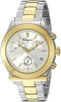 Salvatore Ferragamo Men's FF3840015 1898 Two-Tone Watch