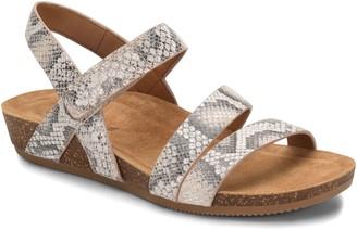 Comfortiva Strappy Leather Sandals - Gardena