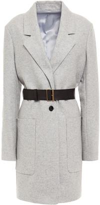 Joseph Herringbone Wool-blend Felt Coat