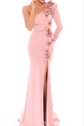 Tarik Ediz Floral Kerry Gown