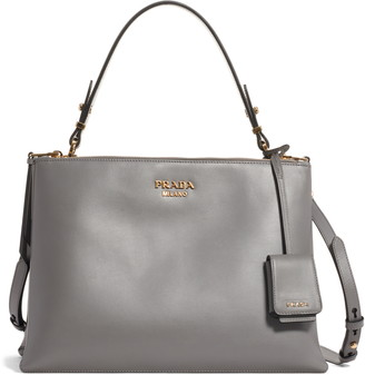 Prada Medium Calfskin Leather Satchel