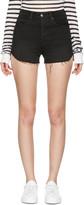 Frame Black Denim Le Original Tulip Shorts