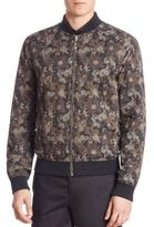Versace Reversible Army Bomber Jacket