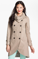 Mackage Double Breasted Military Trench Coat