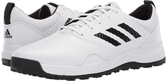 adidas CP Traxion SL (Footwear White/Core Black/Grey Six) Men's Golf Shoes