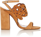 Tabitha Simmons WOMEN'S LASER-CUT EMI SANDALS-TAN SIZE 6