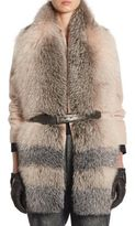 Brunello Cucinelli Fox Fur Stole