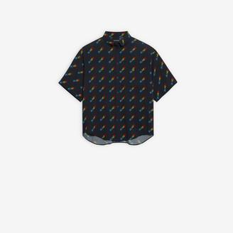 Balenciaga BLNCG Large Fit Shirt
