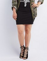 Charlotte Russe Plus Size Bodycon Mini Skirt
