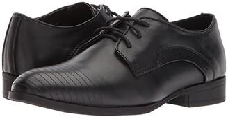 Kenneth Cole Reaction Straight Line (Little Kid/Big Kid) (Black) Boy's Shoes