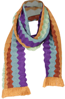 Missoni Fringe Trim Accordion Scarf