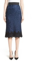 Dolce & Gabbana Women's Lace Pencil Skirt