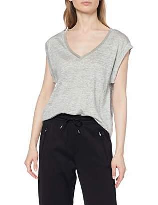 Le Temps Des Cerises Women's Fchris0000000sm T-Shirt, (Ash Grey 0044), X-Small