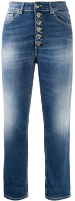 Dondup Koons cropped boyfriend fit jeans