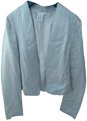 Vanessa Bruno Silver Silk Jacket for Women