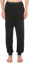Calvin Klein Mid-rise jersey pyjama bottoms