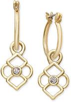 Vera Bradley Crystal Charm Earrings