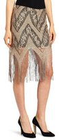 Only Hearts Club Women's Lady Day Fringe Skirt
