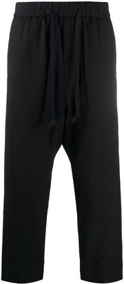 Ziggy Chen Drawstring Cropped Trousers