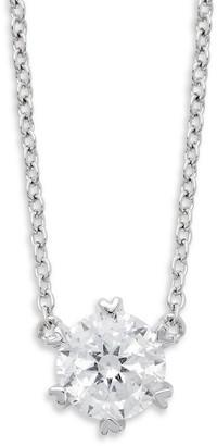 Lafonn Classic Sterling Silver Pendant Necklace