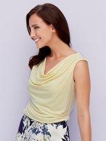 M&Co Cowl neck sleeveless top