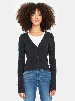 Naadam Long Sleeve Button Down Cashmere Sweater