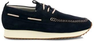Grenson Sneaker 15 Suede Wedge Topsiders