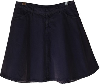 Miu Miu Purple Denim - Jeans Skirt for Women Vintage
