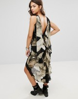 Religion Myth Dip Hem Dress