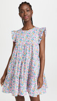 Thumbnail for your product : ENGLISH FACTORY Floral Print Babydoll Dress