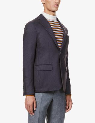 Pal Zileri Brera single-breasted cashmere jacket