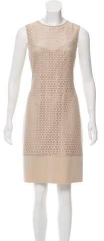 Akris Punto Knee-length Sleeveless Dress