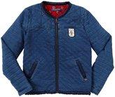 Scotch & Soda Kids Reversible Padded Jacket (Kid) - Indigo Blue-4