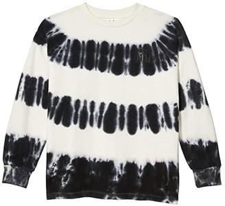 Molo Monau Sweater (Big Kids) (Tie-Dye Stripe) Boy's Clothing